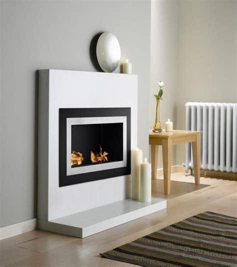 wall mount ventless ethanol fireplace villa