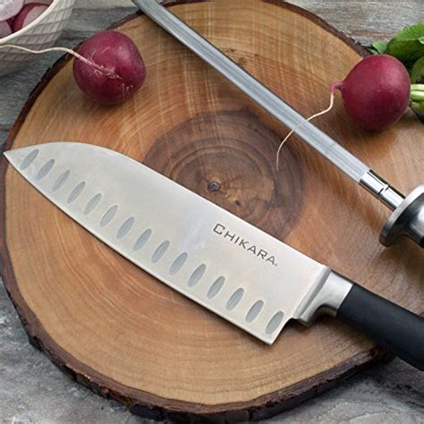 Kitchen Knives Greece Ginsu Gourmet Chikara Series Forged 12 Japanese