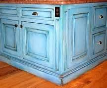 Faux painting kitchen cabinet finish glazing