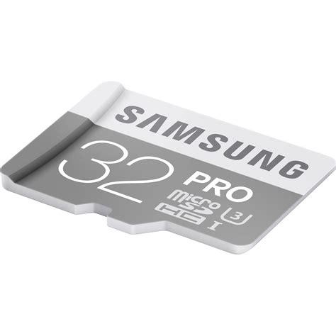Samsung Microsd Pro 32gb Uhs I Card Class 10 Oem samsung 32gb pro uhs i microsdhc u3 memory card mb mg32ea am b h