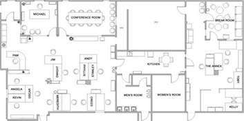 The Office Us Floor Plan by The Office Layout The Office Photo 1757949 Fanpop