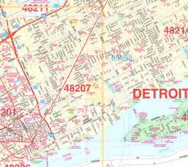 detroit map of us detroit wall map