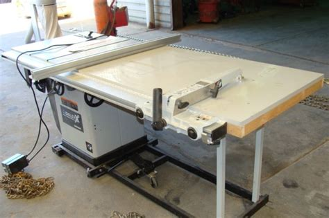 Delta Unisaw Table Saw by Lot 1025 Delta X5 Unisaw Table Saw Mobile Base Table Ext