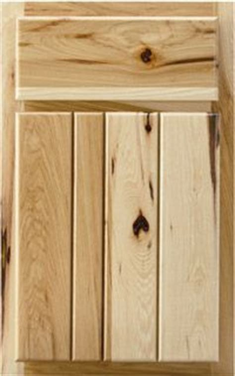 hickory kitchen cabinet doors hickory cabinets slab doors and planks on pinterest