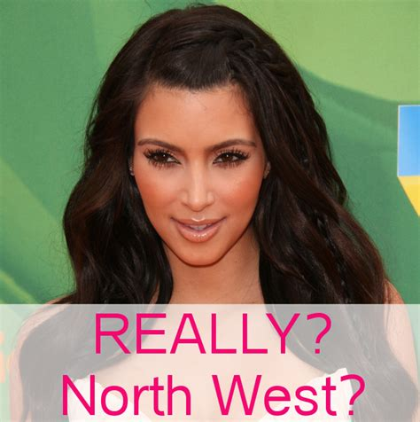 is kim kardashian daughter really named north why it matters that kim kardashian named her baby north west