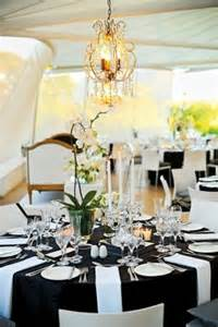 White Table Settings 52 Black And White Wedding Table Settings Weddingomania