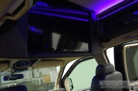 Tv Led Gmc find used southern comfort raised roof conversion leather
