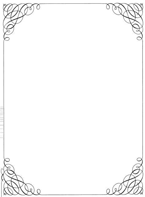 Bordir Elegan White black and white border