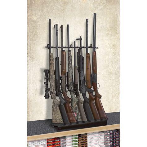Rifle Display Rack by 2 8 Rifle Deluxe Shelf Display Mount Anywhere Sku 6278