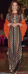 Maxi Casandra Pashmina kate middleton s india wardrobe revealed by stylist helen