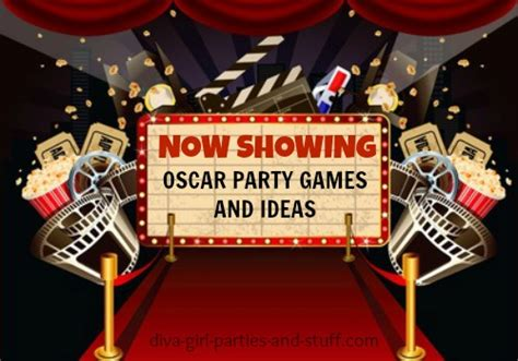 at the decorations oscar ideas celebrate the academy awards in style