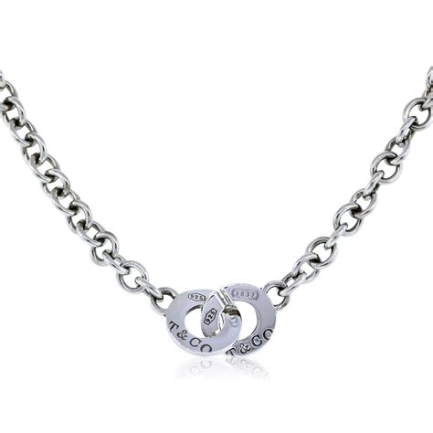 co sterling silver 1837 toggle chain necklace
