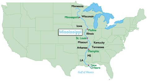 mississippi river on map of united states summertime but livin with river not easy and
