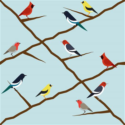 tutorial illustrator bird how to create a seamless bird pattern with retro touch in