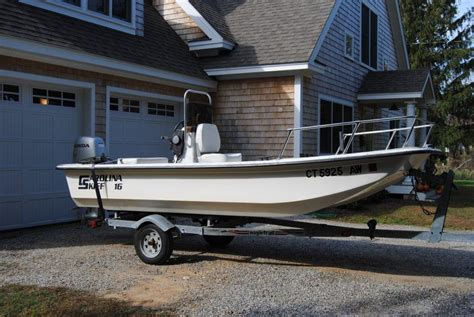 lake boats for sale in ct 1999 carolina skiff 16 standard center console sold