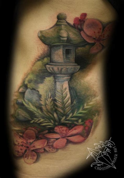 flower garden tattoos lucky bamboo tattoos flower cherry blossom