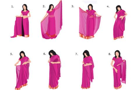 saree draping step by step a simple step by step guide for draping a saree how to