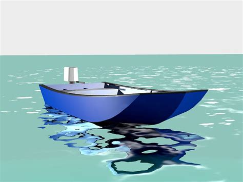 boat hull full of water engine powered open boats lunada design