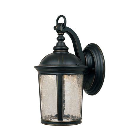 Outdoor Wall Lights Led Led Outdoor Wall Light With Clear Glass In Aged Bronze Patina Finish Led21331 Abp