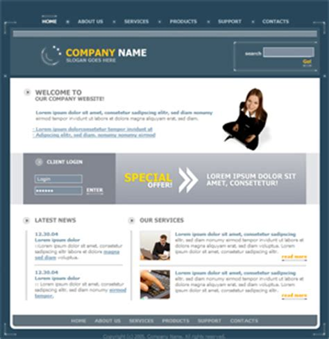 basic site template free website templates free web templates free web