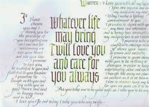 writing wedding vows personal wedding vows