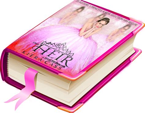 the heirs of books the heir by kiera cass fanmade cover on a book by yomna44