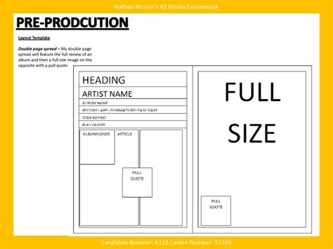 magazine layout template media magazine pre production layout template