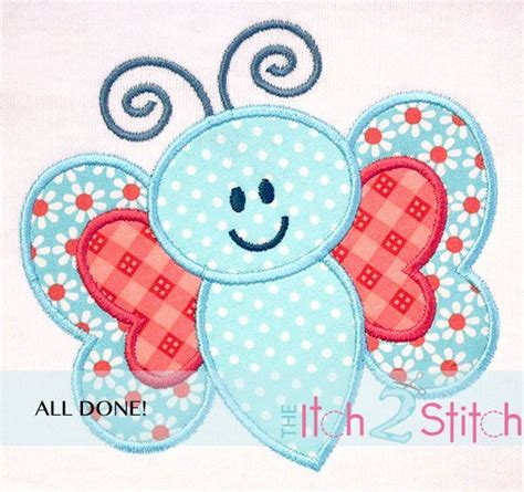 free embroidery applique how 2 stitch a fabric applique design by the
