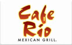Cafe Rio Gift Card - buy cafe rio gift cards raise