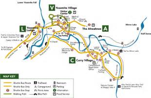 california yosemite map trip to yosemite staying in curry need