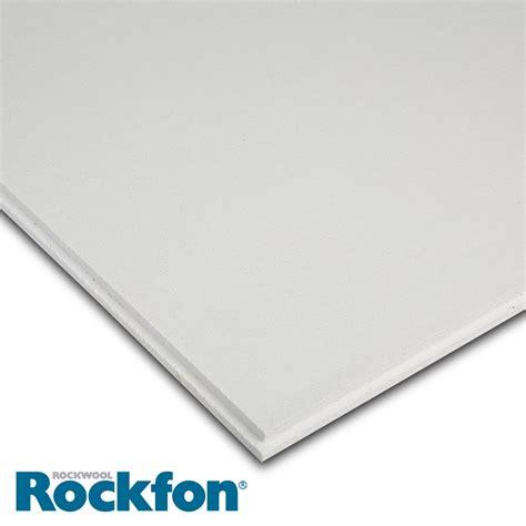 Tegular Ceiling by Rockfon Tropic Alaska E24 Tegular Ceiling Tiles 600mm X