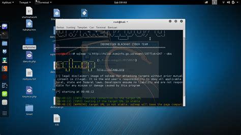 sql injection tutorial kali linux cara exploit sql injection dengan sqlmap di kali linux