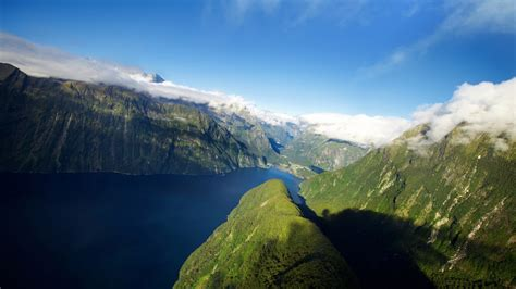fjord in new zealand wallpapers hd wallpapers id 12324 - Fjord In New Zealand