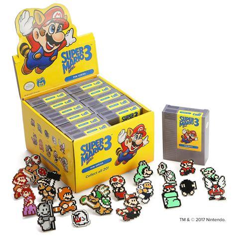 Mario Bros 3 Dot Pin Set by Arcade Store
