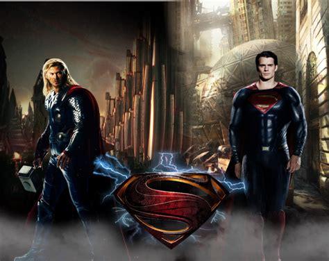 movie thor vs superman thor vs superman by arkhamnatic on deviantart