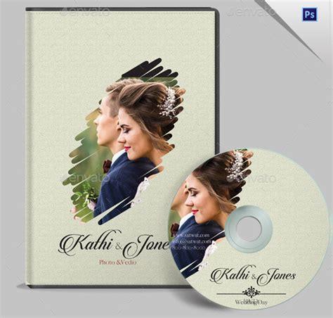 wedding dvd cover templates  premium psd files