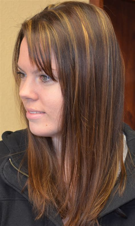 haircuts with color and highlights medium brown hair color with highlights and lowlights