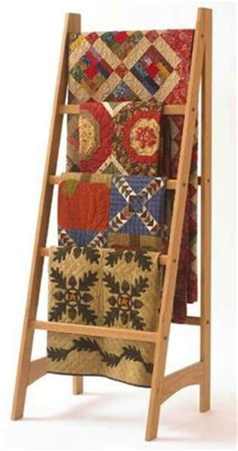 Quilt Rack Display by 1000 Ideas About Quilt Ladder On Quilt Racks