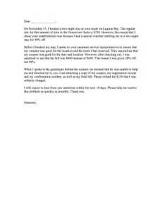 Complaint Letter Money Refund Complaint Overcharge