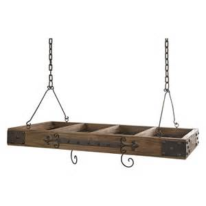 Hanging Saucepan Rack Pot Racks For Sale Shop Hayneedle Kitchen Dining