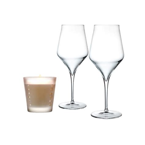 bicchieri da vino bianco e rosso pacchetto regalo calici da vino rosso laboratorio piatti a
