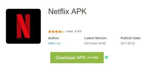 netfilx apk netflix en android c 243 mo instalarlo en tel 233 fonos m 243 viles rooteadosandroid f 225 cil