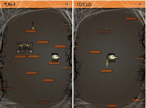 doodle jump vs angry birds comes to doodle jump and angry birds cult of mac