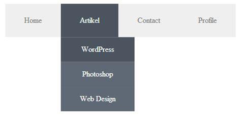 cara membuat header html dengan css cara membuat menu dropdown dengan css belajar dan