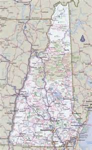 Nh State Map by New Hampshire Road Map