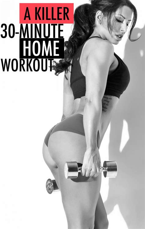a tremendously effective home workout in 30 minutes