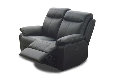 canape relax 2 places canap 233 2 places cuir relax victory noir
