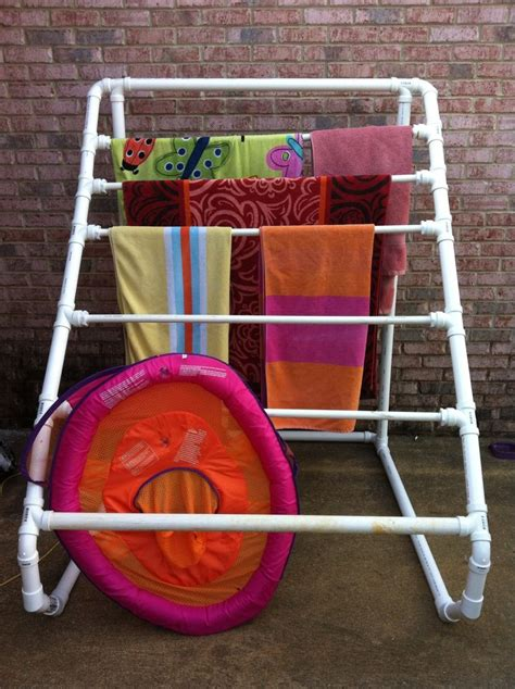 Pvc Pipe Towel Drying Rack by 49 Best Images About Pool Shade On Pool Houses