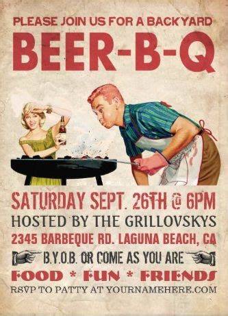 backyard cing birthday 93 best images about barbecue invitations on