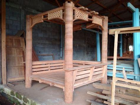 membuat jemuran baju dari bambu terlaris model terbaru gazebo kayu kelapa new alfa murah